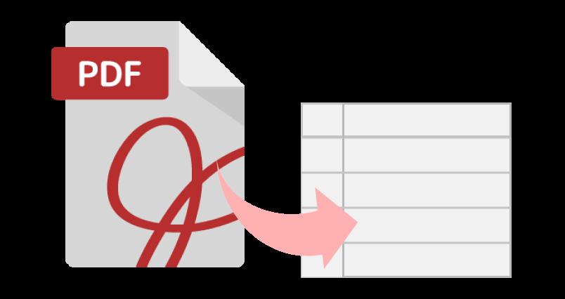 PDFを取り込んで固定文字罫線を一気に再現